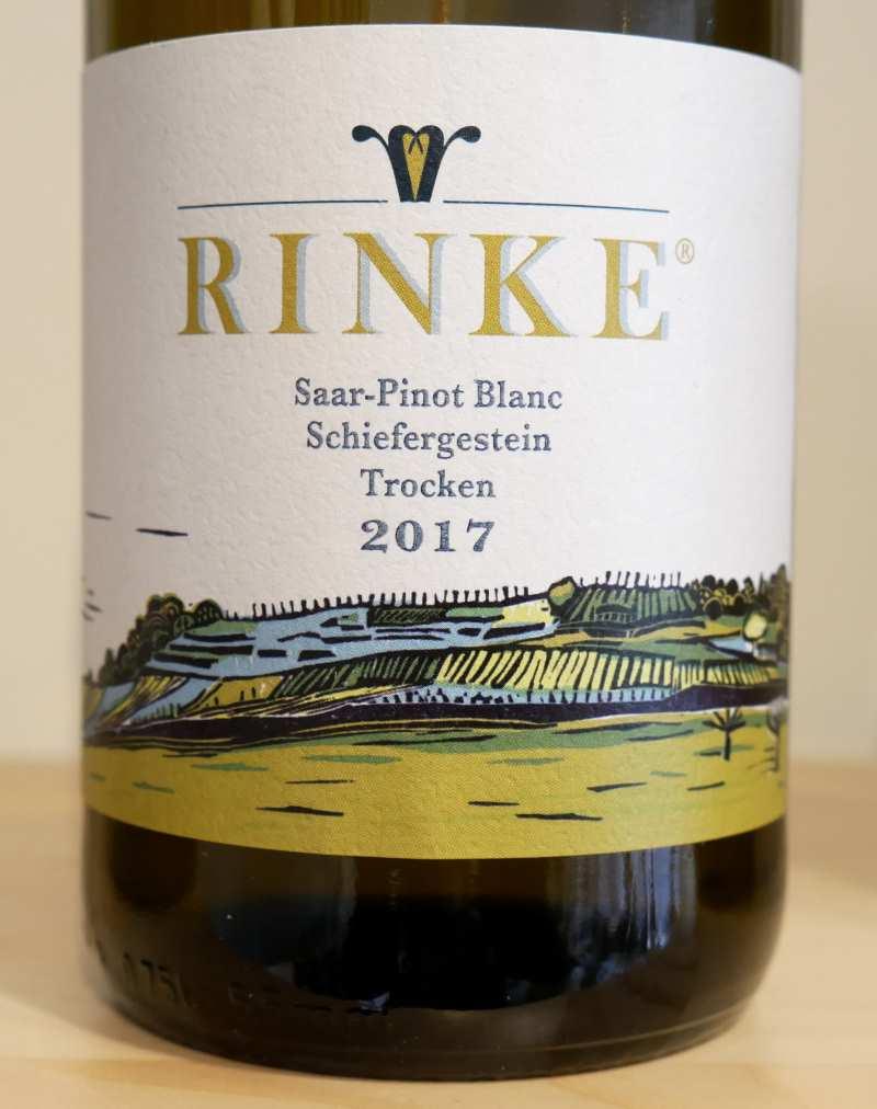 Saar Pinot Blanc Schiefergestein von Weingut Rinke